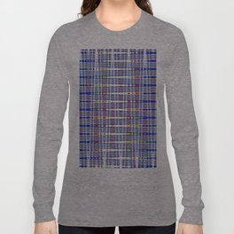 rhombus blue Long Sleeve T-shirt