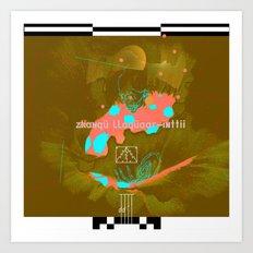 iscay huarancca chunca tahua-yocc Art Print