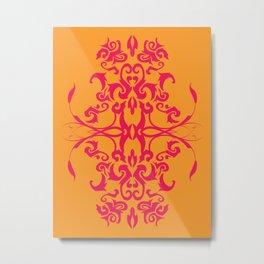 Creamsicle - Pink Metal Print