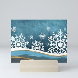 Winter Night Mini Art Print