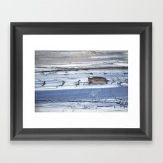 Side Swiped Framed Art Print