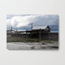 Lightless City Metal Print