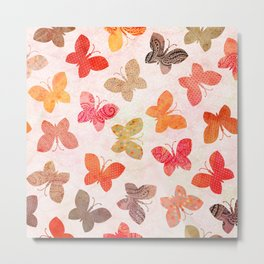 BUTTERFLY SEASON Metal Print
