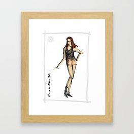 Kiara in Alana Hale Framed Art Print