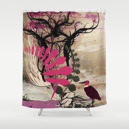 Violet Shower Curtain