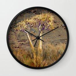Paula in Quiverland Wall Clock