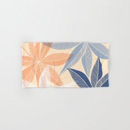 Modern Hawaiian Print II Hand & Bath Towel