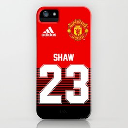 Luke Shaw - Manchester United Home 2018/19 iPhone Case
