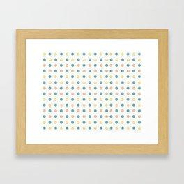 Pills Framed Art Print