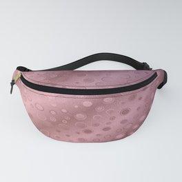 Tiny Bubbles Pink Champagne Splash Pattern Fanny Pack