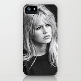 brigitte bardot birthday style iPhone Case