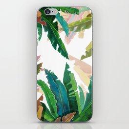 Color LEaves Watercolor iPhone Skin