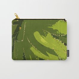 Sawtooth Leafed Aloe Vera Carry-All Pouch