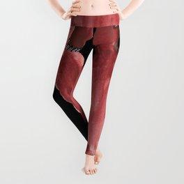 Red Bear Leggings