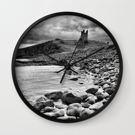 Castle-y rocks Wall Clock