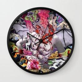 Ms. Ayahuasca de Pompadour Wall Clock