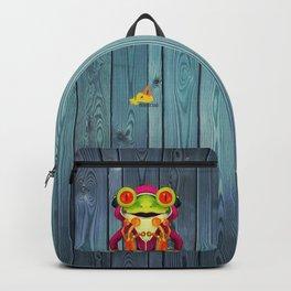 Music Frog Backpack