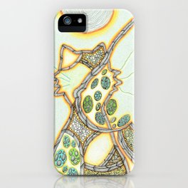 gatto iPhone Case