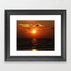 Madeira Beach Sunset 1 Framed Art Print