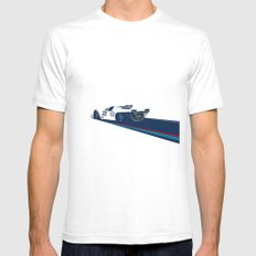 917 White SMALL Mens Fitted Tee