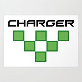 Charger Art Print