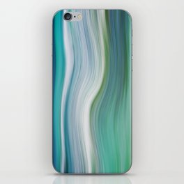 OCEAN ABSTRACT iPhone Skin