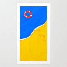 SUMMER-1 Art Print