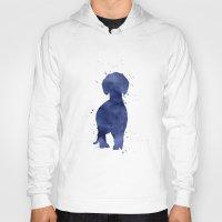 dachshund Hoodies featuring Dachshund by Carma Zoe