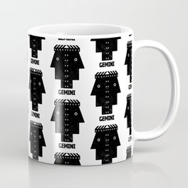 gemini astrology pattern Coffee Mug