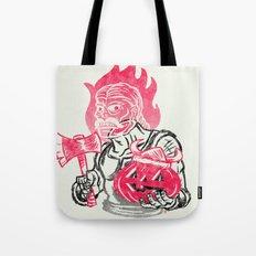 Headless Norseman Tote Bag