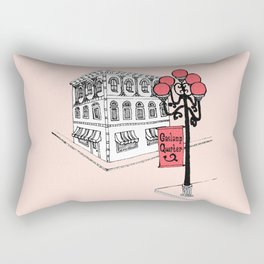 Gaslamp Quarter Rectangular Pillow