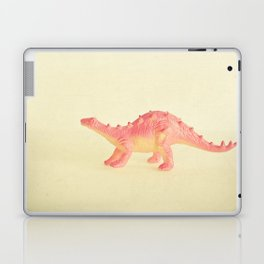 Pink Dinosaur Laptop & iPad Skin
