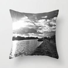 canal life... Throw Pillow
