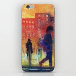 Street scene iPhone Skin