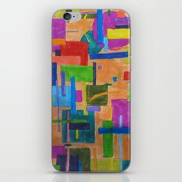 RainbowDoodles iPhone Skin