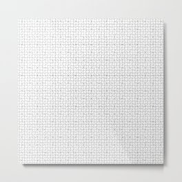 grid in black Metal Print