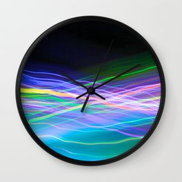 saturn frequency Wall Clock
