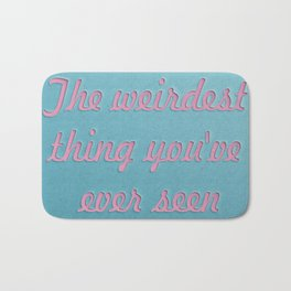 For my lovely hipsters Bath Mat