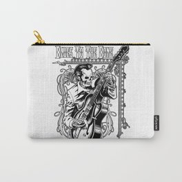 Blues to the Bone Rockabilly Carry-All Pouch