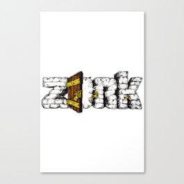 Zork Retro Video Game Canvas Print