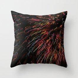 Fireworks Series Throw Pillow