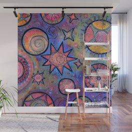 Celestial Stars - Sending Love and Healing Light  Wall Mural
