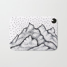Moonlight Mountain Bath Mat