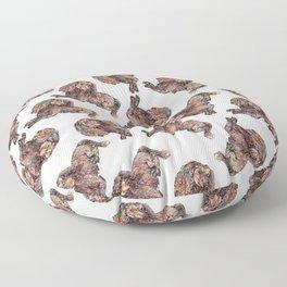 Dachshund Dog Floor Pillow