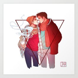 Still Into You Art Print