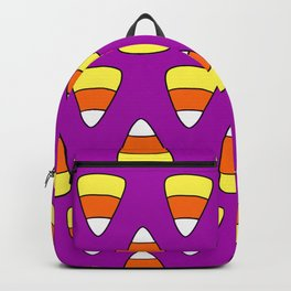 Purple Candy Corn Backpack