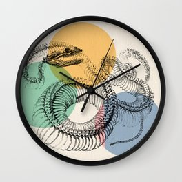 The Anatomy of loafers Wall Clock