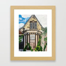 Old Woodbrook House Framed Art Print