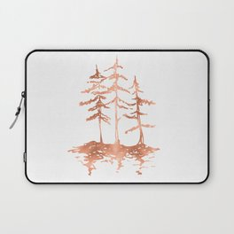THE THREE SISTERS Trees Rose Gold Laptop Sleeve