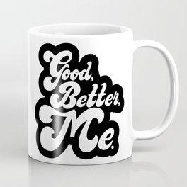 Good Better Mee lettering Coffee Mug